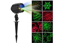Outdoor Christmas Laser Light