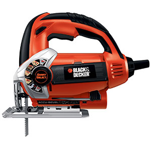 10. Black & Decker Smart Select 5.0A Orbital Jigsaw