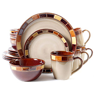 Gibson Casa Estebana Dinnerware Set 16-piece  sc 1 st  Ahjoo & Top 10 Best Dinnerware Sets in 2018 Reviews