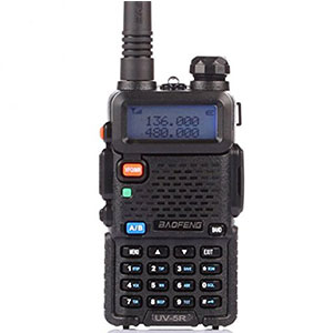 8. BaoFeng UV-5R Dual Band Two Way Radio