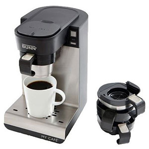 8. BUNN MCU Single Cup Multi-Use Home Coffee Brewer