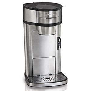 1. Hamilton Beach 49981A Single Serve Scoop Coffee Maker