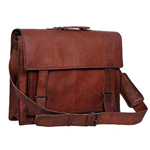 f075fbc8f195 Top 10 Best Leather Laptop Messenger Bags for Men in 2019 Reviews