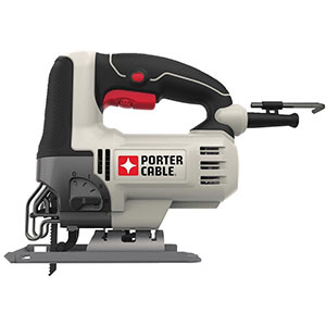 6. PORTER-CABLE PCE345 6-Amp Orbital Jig Saw