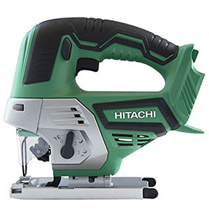 4. Hitachi CJ18DGLP4 18V Cordless Lithium-Ion Jig Saw with Lifetime