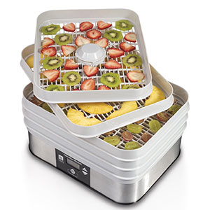 2. Hamilton Beach 32100A Food Dehydrator