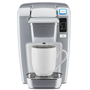 7. Keurig K15 Single Serve Compact K-Cup Pod Coffee Maker
