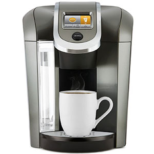 9. Keurig K575 Single Serve Programmable K-Cup Coffee Maker