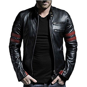 7. Laverapelle 1510535 Men's Genuine Leather Jacket