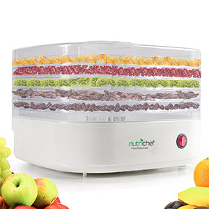 7. NutriChef PKFD06 Food Dehydrator Machine