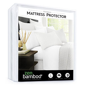 6. Zen Bamboo Cool and Breathable Mattress Protector