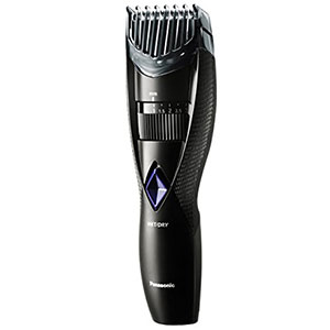 6. Panasonic 6.6 Ounce Black Electric Beard Trimmer