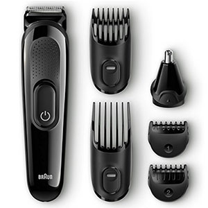 8. Braun Men's Beard Trimmer (MGK3020)