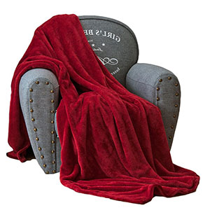 5. Qbedding Inc. Luxury Collection Soft Plush Fleece All-Season Throw Blanket