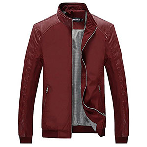 10. Tanming Men's Slim Casual Lightweight Jacket
