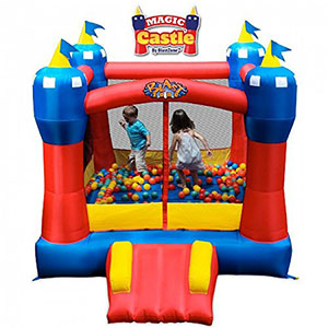 2. Blast Zone Inflatable Bouncer (Magic Castle)