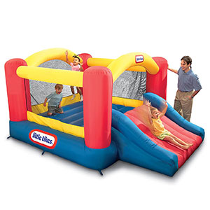 1. Little Tikes Jump 'n Slide Bouncer