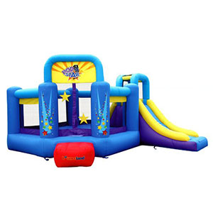 10. Bounceland Inflatable Bounce House Bouncer (Pop Star)
