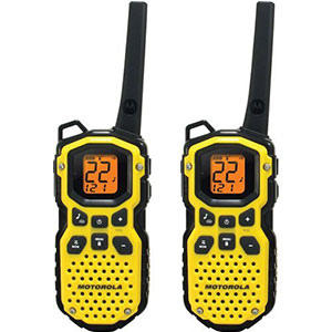3. Motorola 35-Mile Waterproof 2-Way Radio (MS350R)
