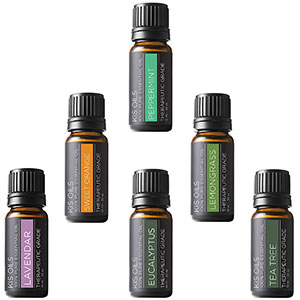 4. Kis Oil's Aromatherapy Top 6 Essential Oil Set