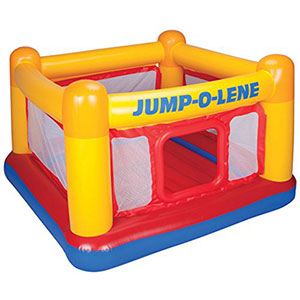 4. Intex Playhouse Inflatable Bouncer (Jump-O-Lene)