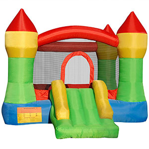 3. Cloud 9 Mighty House Bouncing Castle Theme