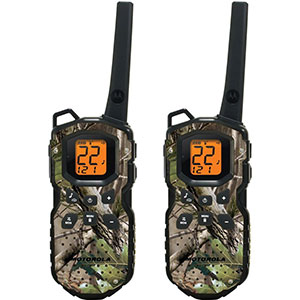2. Motorola Waterproof 35-Mile Two-Way Radio (MS355R)