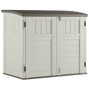 10. Suncast Horizontal Storage Shed (BMS2500)