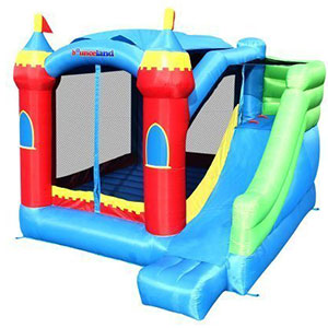 8. Bounceland Bounce House Bouncer (Royal Palace)