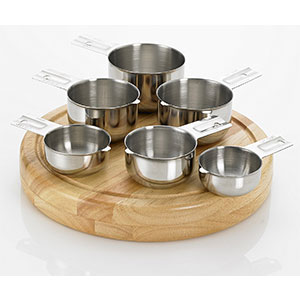 1. Bellemain Stainless Steel Measuring Cup Set