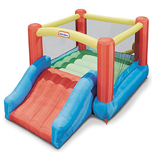 5. Little Tikes Jr. Jump 'n Slide Bouncer