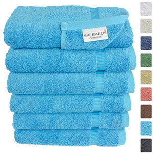 1. SALBAKOS Aqua Hotel & Spa 6-Piece Towel Set