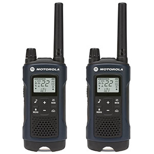 9. Motorola Dark Blue Talkabout T460 Two-Way Radio