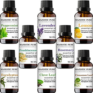 3. Majestic Pure Aromatherapy Essential Oils Set