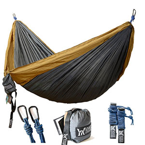 3. WINNER OUTFITTERS Lightweight Double Camping Hammock
