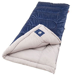5. Coleman Brazos Sleeping Bag (Cool Weather)