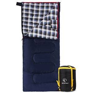 4. REDCAMP Cotton Flannel Sleeping Bags