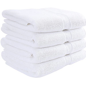 9. Utopia Towels 600 GSM Hotel and Spa Towels Set (4 Pack)