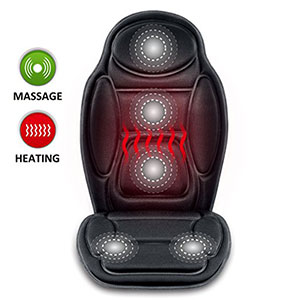 6. SNAILAX Seat Cushion Vibrating Massage