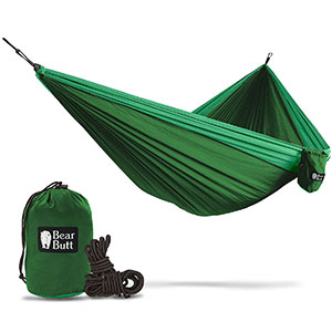 6. Bear Butt Camping Hiking Double Hammock