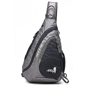 6. SEEU Sling Bag Backpack for Men and Women