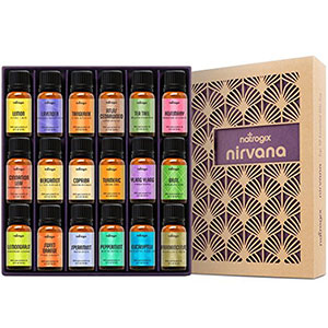 10. Natrogix Nirvana Top 18 Essential Oil Set