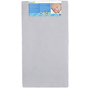 6. Safety 1st Heavenly Dreams Crib Mattress (White)