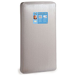 "7. Sealy 52""x28"" Baby Firm Rest Infant/Toddler Crib Mattress"