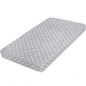"4. Milliard Crib and Toddler Bed Mattress (27.5""x52""x5.5"")"