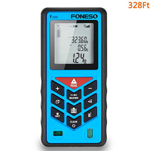 2. Foneso 328ft Laser Distance Measurer