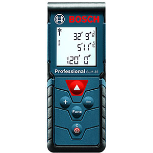 1. Bosch 120-Feet GLM 35 Laser Measure