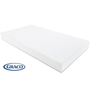 3. Graco Premium Foam Crib and Toddler Bed Mattress