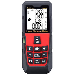 3. DMiotech 131ft Laser Distance Measure