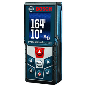 4. Bosch GLM 50 C Bluetooth Enabled Laser Distance Measurer
